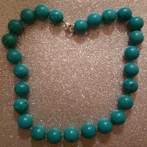 Jewelry - Genuine turquoise necklace